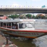 【タイ】チャオプラヤー川クルーズはエクスプレスボートを乗りこなそう!
