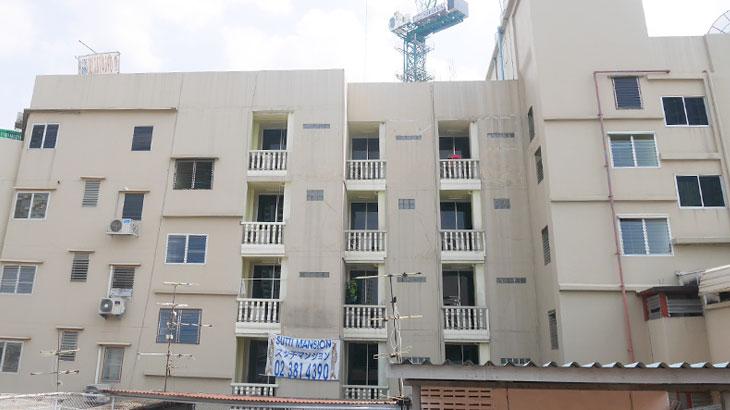 【タイ】バンコクの格安1万バーツ以下の賃貸物件!スッチ マンション Sutti Mansion