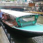 【タイ】渋滞なし!バンコクの伊勢丹まで格安で快適移動移動のセンセープ運河ボート(水上バス)