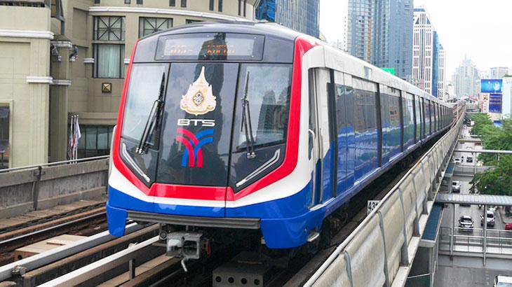 【タイ】バンコクの主要スポットはBTSでほぼ網羅できる!路線図やチケットの買い方などの 基本情報から主要スポットのある駅を詳しくご紹介!
