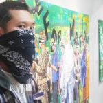 【タイ】ギャラリーからストリートまでプロテストアートを展開する Luckyleg