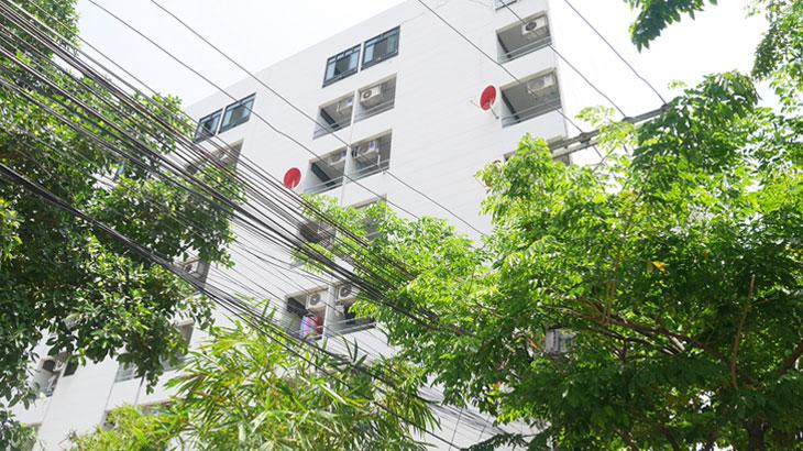 【タイ】バンコクの格安1万バーツ以下の物件!シーロムのナガラ アパートメント Nagara Apartment