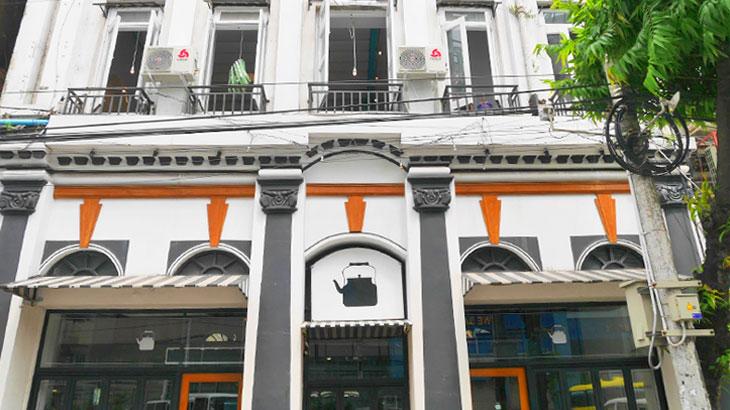 【ミャンマー】「ラングーンティーハウス(Rangoon Tea House)」で飲むミャンマー紅茶ラペイエと旅行者でも食べやすいモヒンガーをいただく