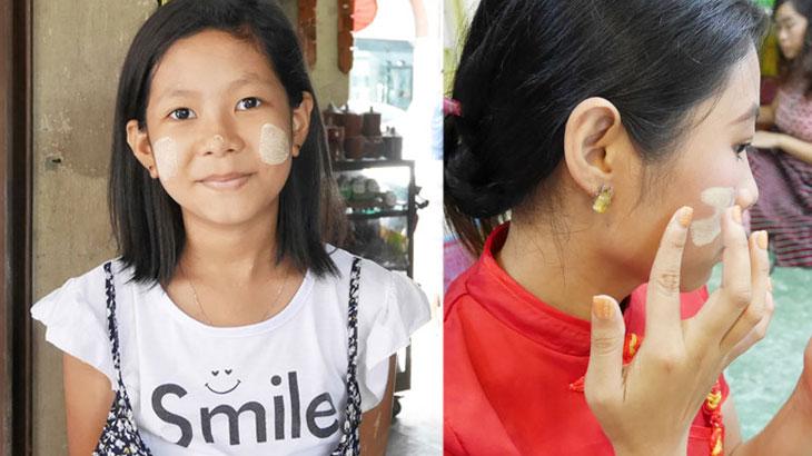 【ミャンマー】ミャンマーの自然派化粧品「タナカ」の使い方とお土産に人気のタナカ石鹸やタナカローション について