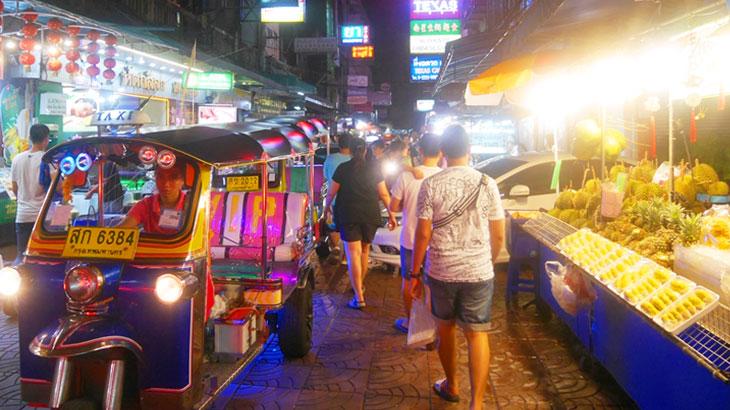 【タイ】バンコクのチャイナタウン!ヤワラートの「ソイテキサス」で満腹食べ歩き!