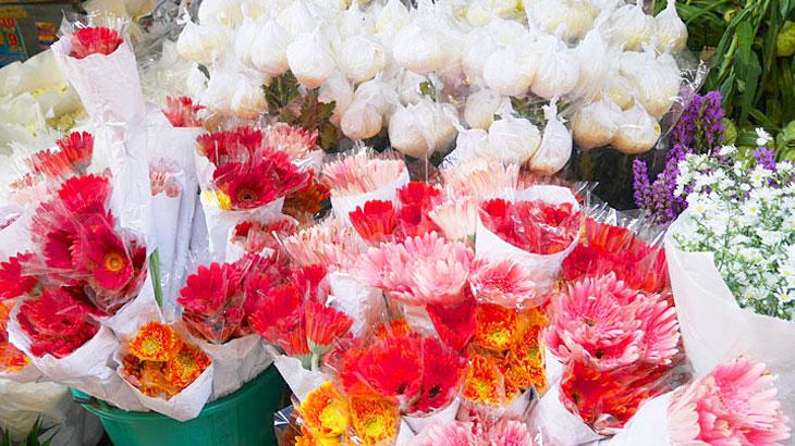 【タイ】バンコクの巨大花市場!「パークローン花市場」の行き方や市場の様子をご紹介!