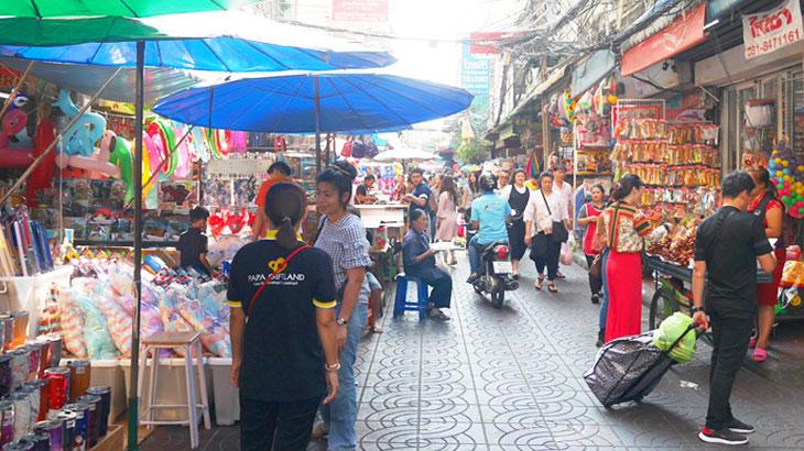 【タイ】アクセサリーや雑貨店がびっしり!バンコクのチャイナタウンにある卸売市場〜サンペーン市場