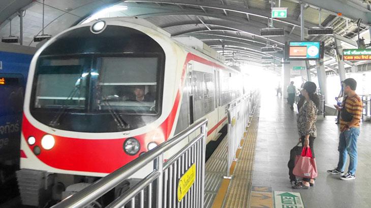 【タイ】スワンナプーム国際空港からバンコク都内中心部への移動「エアポートレールリンク」〜乗り方、運賃、時刻表