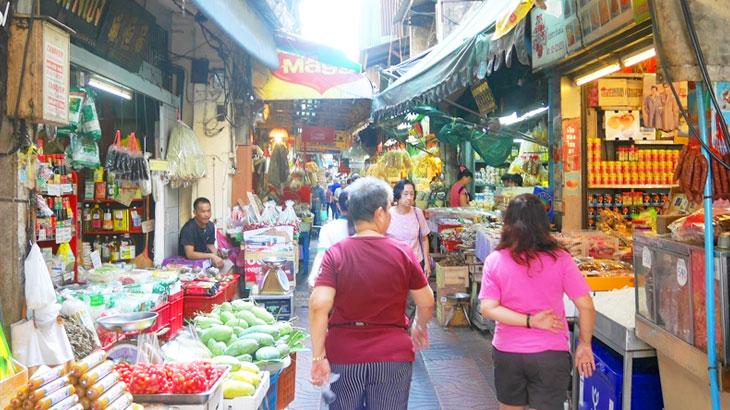 【タイ】 バンコクのチャイナタウン・ヤワラートの路地市場で中華食材を買う!「イサラーヌパープ通り」