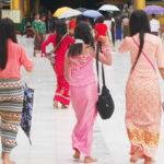 【ミャンマー】ミャンマーの巻きスカート「ロンジー」!ミャンマー女性の魅力を引き出す美しい伝統衣装