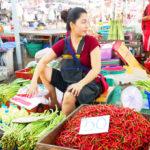 【タイ】観光地ではないローカル巨大市場「バンケー市場(Bang Khae Market)」と懐かしさ漂う運河散策