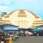 【カンボジア】プノンペンの巨大市場「セントラルマーケット」!中央がドーム型のモダン建築
