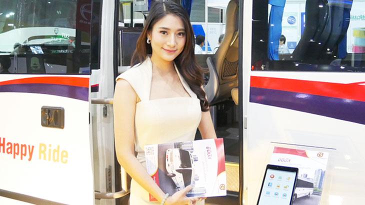【タイ】最新のトラックやバス、特殊車両がバンコクに集合したモーターイベント BUS & TRUCK '19