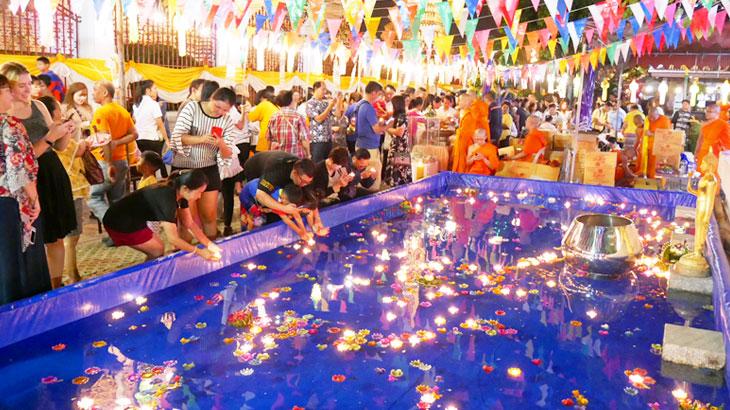 【タイ】ロイクラトン「リバーフェスティバル2019」!チャオプラヤー川の寺院周辺やICONSIAMなどをレポート