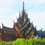 【タイ】パタヤの巨大木造建築「サンクチュアリー・オブ・トゥルース」!フォトジェニックな建物解説や行き方について詳しくご紹介