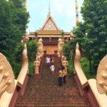 【カンボジア】プノンペンの名の由来となったお寺「ワットプノン」!緑ある静かで小高い丘を散策
