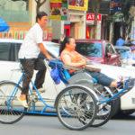 【ベトナム】人力車「シクロ」!乗ってみたいけど心配なのはホーチミンで多発するぼったくり