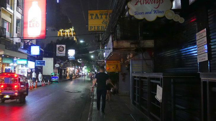 【タイ】バンコクと近郊県の「娯楽施設営業禁止」初日3月18日のバンコク中心部の様子