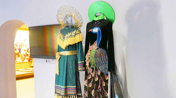 【ベトナム】「南部女性博物館」で貴重なアオザイやベトナム人女性の活動の歴史資料を鑑賞!