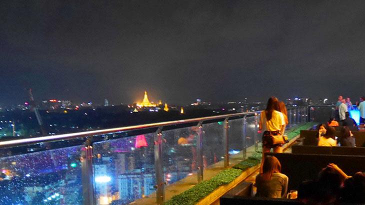 【ミャンマー】ルーフトップバー「ヤンゴン ヤンゴン Yangon Yangon」から眺めるシュエダゴンパゴダの夜景!