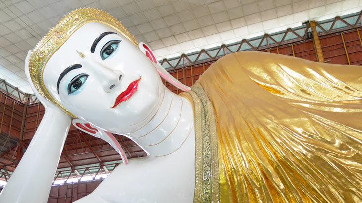 【ミャンマー】チャウタッジーパゴダの巨大な寝釈迦仏!ヤンゴンの有名仏教寺院について詳しくご紹介