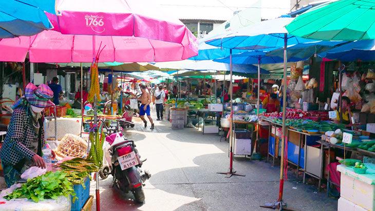 【タイ】プラカノン市場でローカルを満喫!観光地ではないマーケットを散策