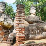 【タイ】カムペーンペット歴史公園の遺跡!城壁に囲まれた古の要塞都市を巡る