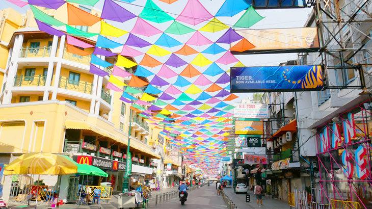 【タイ】ソンクラン2021初日レポート!カオサンロードやシーロム通りなどコロナ渦中のソンクラン水掛けエリアを散策